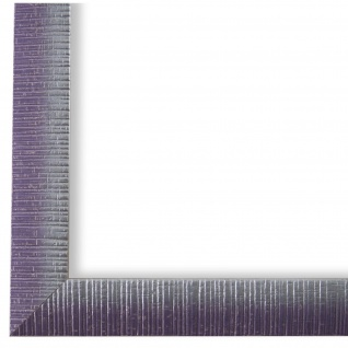 Bilderrahmen Lila Silber Vintage Sorrento - DIN A2 - DIN A3 - DIN A4 - DIN A5