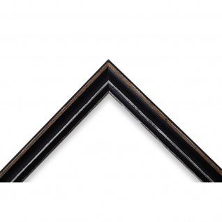 Wandspiegel Spiegel Schwarz Antik Shabby Holz Cosenza 1, 9 - NEU alle Größen - Vorschau 3