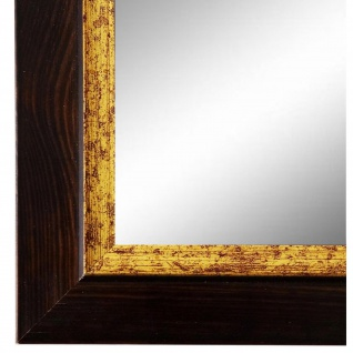 Spiegel Wandspiegel dunkel Braun Modern Holz Catanzaro 3, 9 - NEU alle Größen
