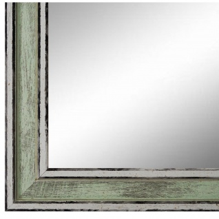 Wandspiegel Spiegel Grün Retro Shabby Holz Lugnano 2, 8 - NEU alle Größen
