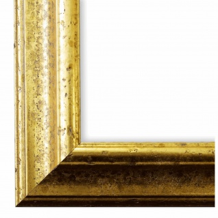 Bilderrahmen Gold Vintage Retro Holz Genua 4, 3 - NEU alle Größen