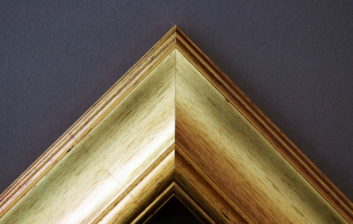Bilderrahmen Gold Antik Barock Fotorahmen Urkunden Rahmen Holz Vintage Acta 6, 8 - Vorschau 4