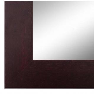 Wandspiegel Spiegel Braun Rot Modern Retro Holz Florenz 4, 0 - NEU alle Größen