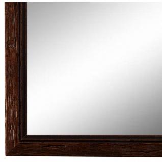 Wandspiegel Spiegel Braun gemasert Antik Retro Holz Vasto 1, 8 - NEU alle Größen