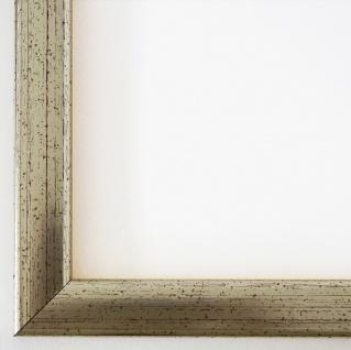 Bilderrahmen Silber Modern Art Deco Rahmen Holz Hannover 2, 4 - alle Größen NEU