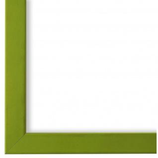 Bilderrahmen hell Grün Modern Retro Holz Asti 1, 7 - NEU alle Größen
