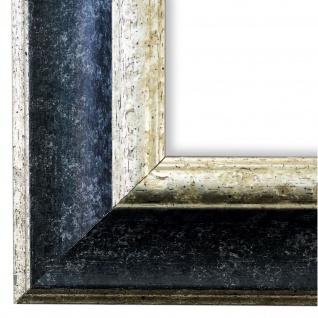Bilderrahmen Schwarz Silber Antik Vintage Rahmen Acta 6, 8 - NEU alle Größen
