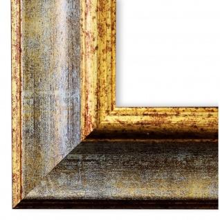 Bilderrahmen Grau Gold Antik Vintage Rahmen Acta 6, 8 - NEU alle Größen