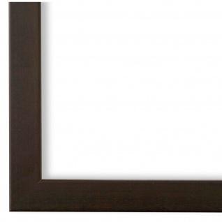 Bilderrahmen dunkel Braun Holz Neapel 2, 0 - DIN A2 - DIN A3 - DIN A4 - DIN A5