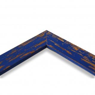 Bilderrahmen Blau Antik Vintage Holz Cremona 3, 0 - NEU alle Größen - Vorschau 4