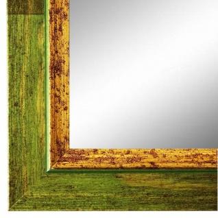 Spiegel Wandspiegel Grün Gold Modern Holz Catanzaro 3, 9 - NEU alle Größen