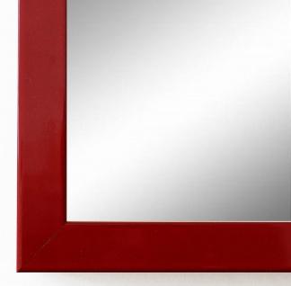 Wandspiegel Rot Lack Como Modern 2, 0 - NEU alle Größen