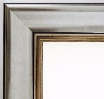 Bilderrahmen Silber Antik Rahmen Holz Klassisch Flensburg 5, 5 - alle Größen