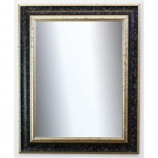 Badspiegel Schwarz Silber Acta Antik Barock 6, 7 - NEU alle Größen