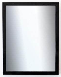 Badspiegel Schwarz Lack Como Modern 2, 0 - NEU alle Größen