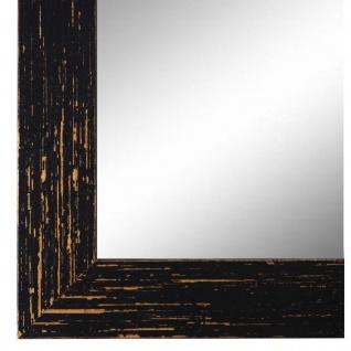 Wandspiegel Spiegel Schwarz Shabby Antik Holz Cremona 3, 0 - NEU alle Größen