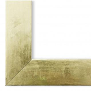 Bilderrahmen Gold Vintage Retro Shabby Holz Lecce 3, 9 - NEU alle Größen