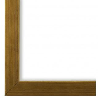 Bilderrahmen Gold Modern Holz Como 2, 0 - NEU alle Größen