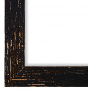 Bilderrahmen Schwarz Antik Vintage Holz Cremona 3, 0 - NEU alle Größen