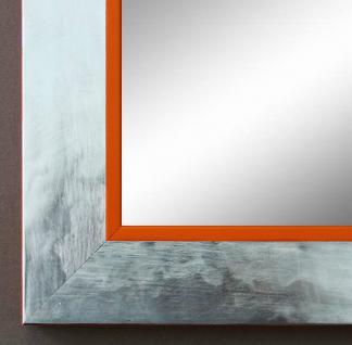 Spiegel Wandspiegel Badspiegel Flur Garderobe Modern Lecce Silber Orange 3, 9