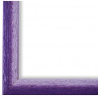Bilderrahmen Violett Weiss Retro Pinerolo - DIN A2 - DIN A3 - DIN A4 - DIN A5