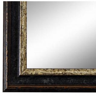 Wandspiegel Spiegel Schwarz Silber Vintage Retro Forli 3, 7 - NEU alle Größen