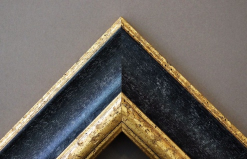 Badspiegel Schwarz Gold Acta Antik Barock 6, 7 - NEU alle Größen - Vorschau 3