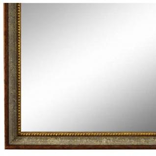 Wandspiegel Spiegel Grau Braun Barock Antik Holz Empoli 1, 5 - NEU alle Größen
