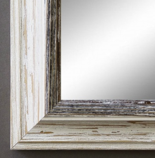 Wandspiegel Hochformat Querformat Bari Antik Beige Schwarz 4, 2 - NEU alle Größen