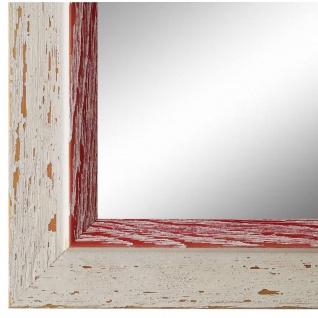 Spiegel Wandspiegel Beige Rot Modern Holz Catanzaro 3, 9 - NEU alle Größen