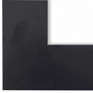 Bilderrahmen matt Schwarz Shabby Vintage Retro Holz Novara 7, 0 - NEU alle Größen