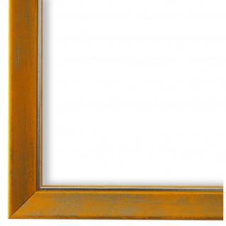 Bilderrahmen Gelb Silber Holz Frosinone 1, 8 - DIN A2 - DIN A3 - DIN A4 - DIN A5