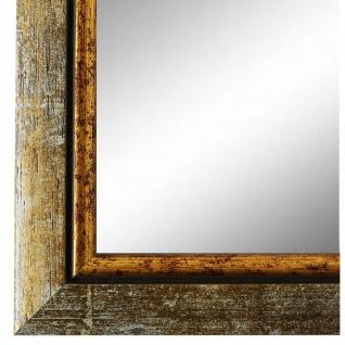 Wandspiegel Spiegel Grau Gold Retro Vintage Holz Perugia 3, 0 - NEU alle Größen