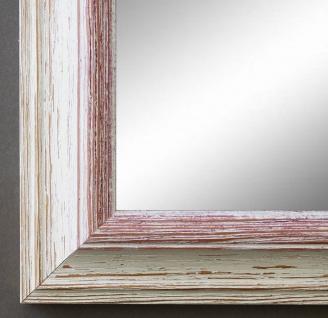 Spiegel Wandspiegel Badspiegel Flur Garderobe Landhaus Shabby Bari Weiß Rot 4, 2