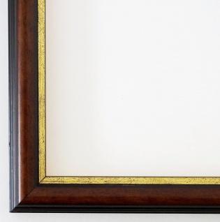 Bilderrahmen Braun Gold Rahmen Holz Modern Art Berlin 2, 3 - Top Qualität NEU