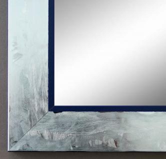 Spiegel Wandspiegel Badspiegel Flur Garderobe Lecce Silber dunkel Blau 3, 9