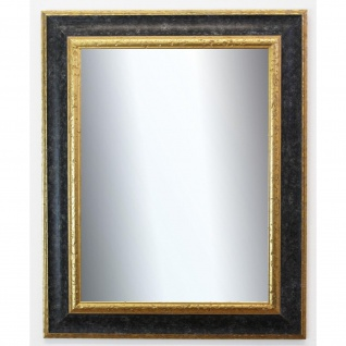 Badspiegel Schwarz Gold Acta Antik Barock 6, 7 - NEU alle Größen