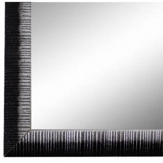 Wandspiegel Spiegel Schwarz Silber Vintage Holz Sorrento 2, 5 - NEU alle Größen