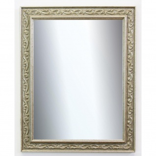 Spiegel Silber Antik Barock Wandspiegel Badspiegel Flur Vintage Verona 4, 4