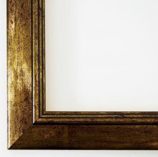 Bilderrahmen Rahmen Holz Foto Urkunden Shabby Antik Barock Frankfurt Gold 3, 5
