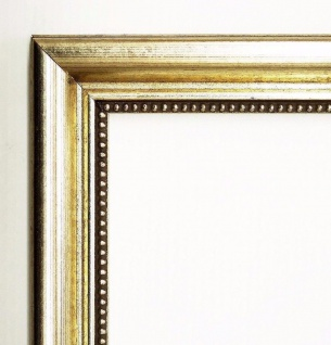 Bilderrahmen Silber Antik Barock Rahmen Foto Clever Line 5 2, 8 - alle Größen