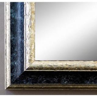 Garderobenspiegel Schwarz Silber Genua Antik Barock 4, 2 - NEU alle Größen