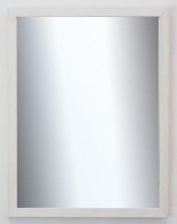 Garderobenspiegel Weiß Beige Siena Landhaus Shabby Modern 2, 0 - NEU alle Größen