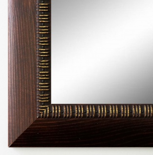 Garderobenspiegel Braun Turin Landhaus Antik Barock 4, 0 - alle Größen
