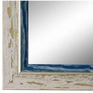 Spiegel Wandspiegel Beige Blau Modern Holz Catanzaro 3, 9 - NEU alle Größen