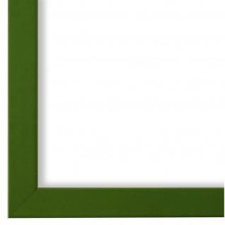 Bilderrahmen Grün Modern Retro Holz Asti 1, 7 - NEU alle Größen