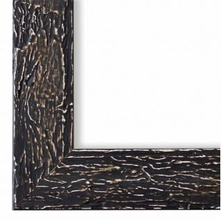 Bilderrahmen Schwarz Vintage Retro Holz Parma 3, 9 - NEU alle Größen