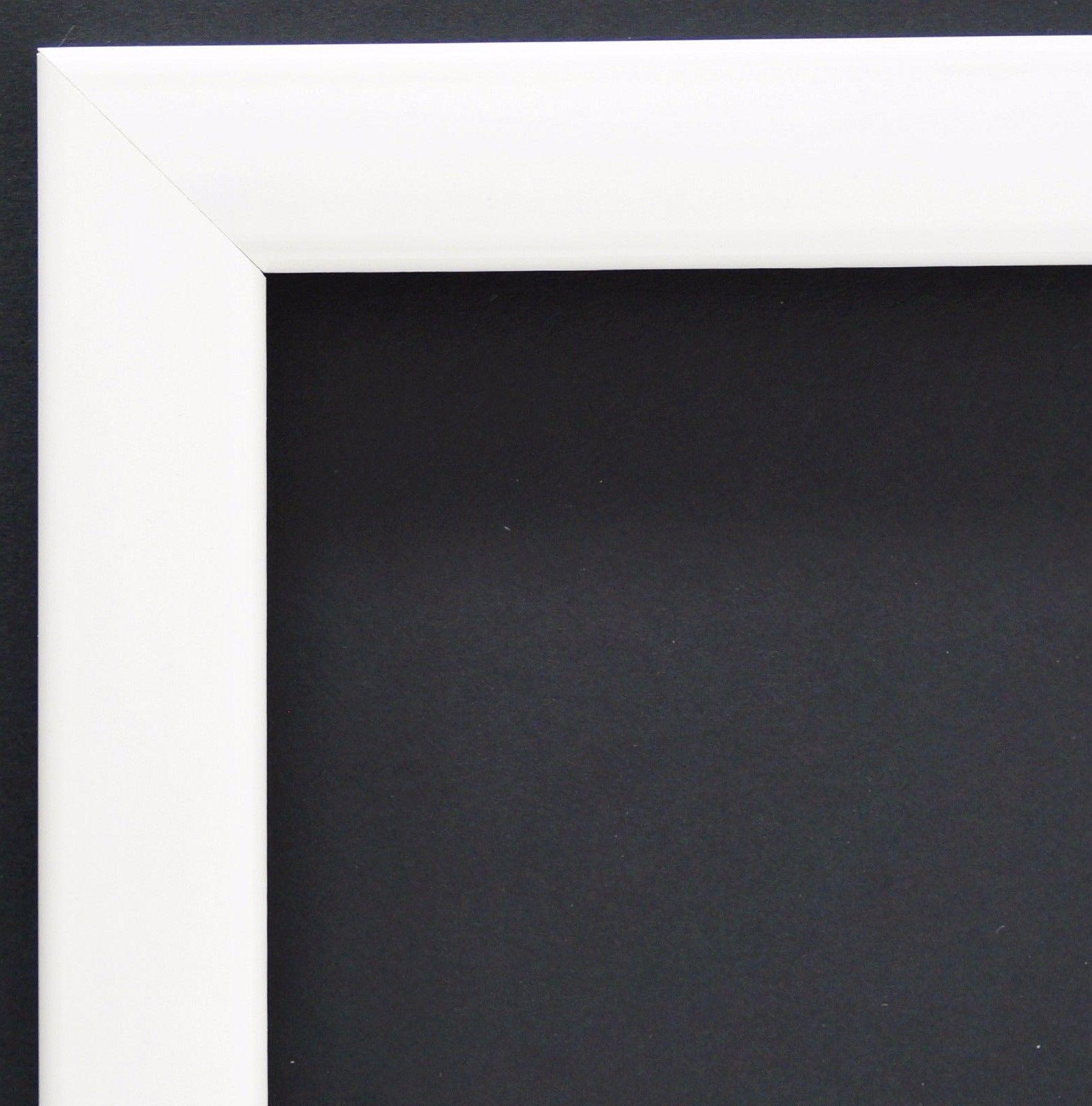 Bilderrahmen Weiss Lack Modern Rahmen Holz Art Hannover 2, 4 - alle ...