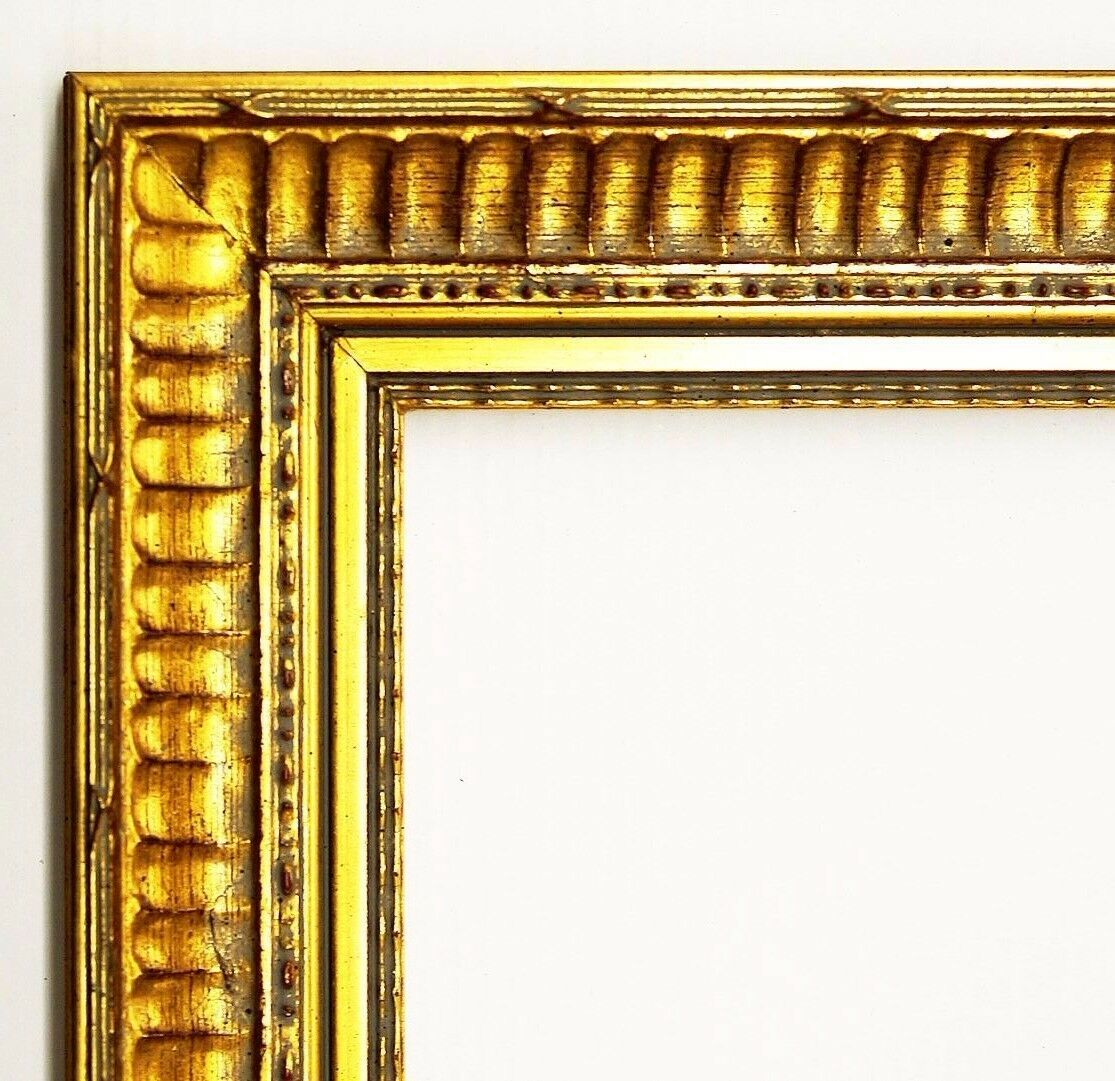Bilderrahmen Gold Barock Antik Holz Foto Rahmen Clever Line 1 3, 8 ...