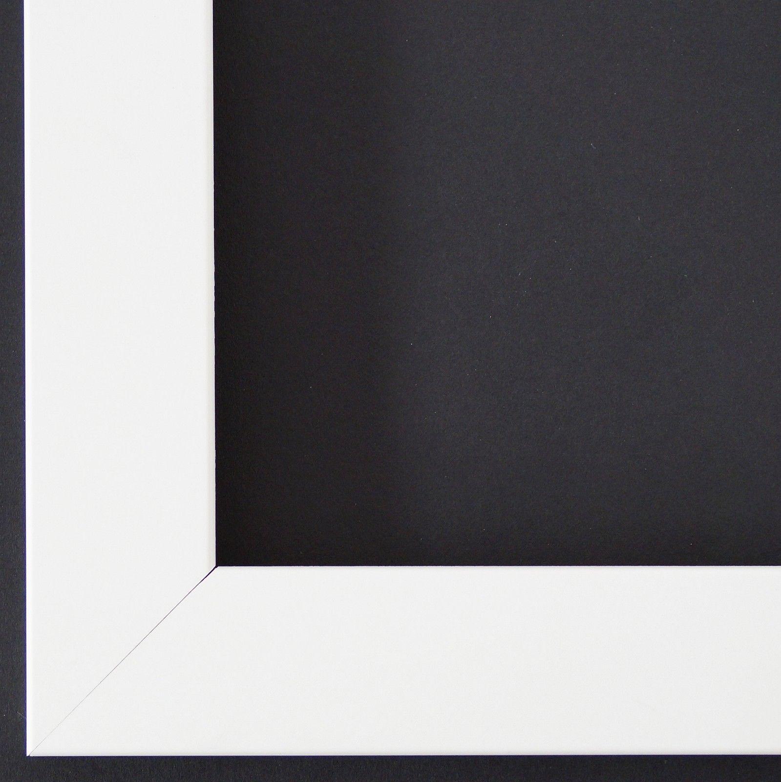 Bilderrahmen matt Weiß- 9x13 10x10 10x15 13x18 15x20 18x24 20x20 ...